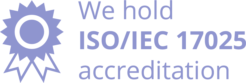 We're an accredited DNA testing services provider